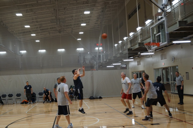 Basketball At Fort Hill Not Just For Kids Naperville Park District