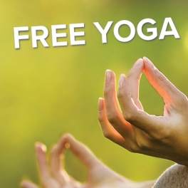 FREE Yoga Events Jul. 13 and Aug. 17