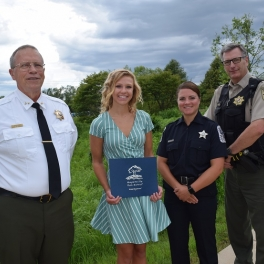 13th Annual Officer David White Scholarship Awarded to Katharine Marshall