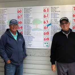 2020 Fall Scramble Results at Springbrook Golf Course